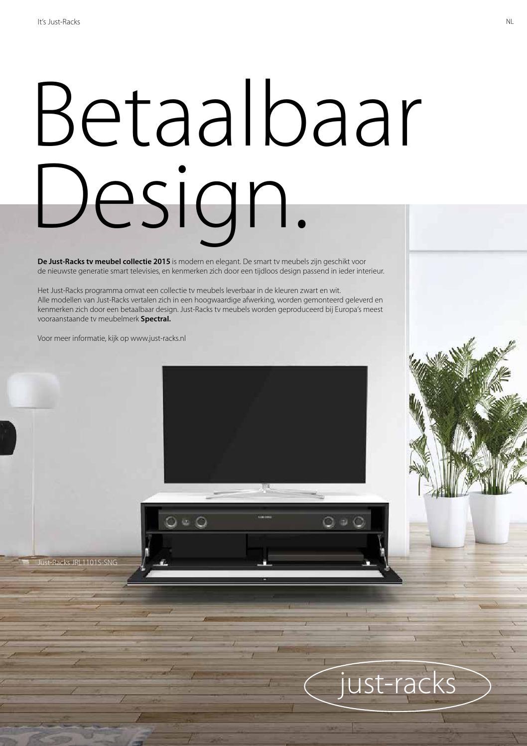 Modern Tv Meubel Zwart.Just Racks 2015 Magazine By Spectral Smart Furniture Issuu