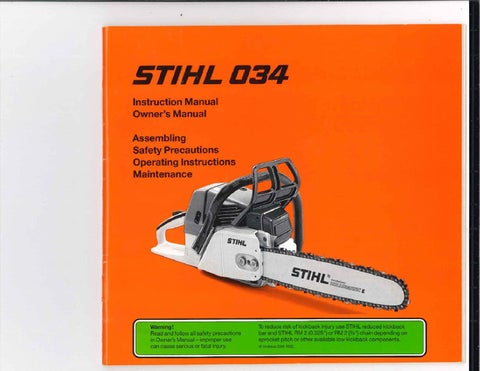 Stihl Manuals by glsense - Issuu