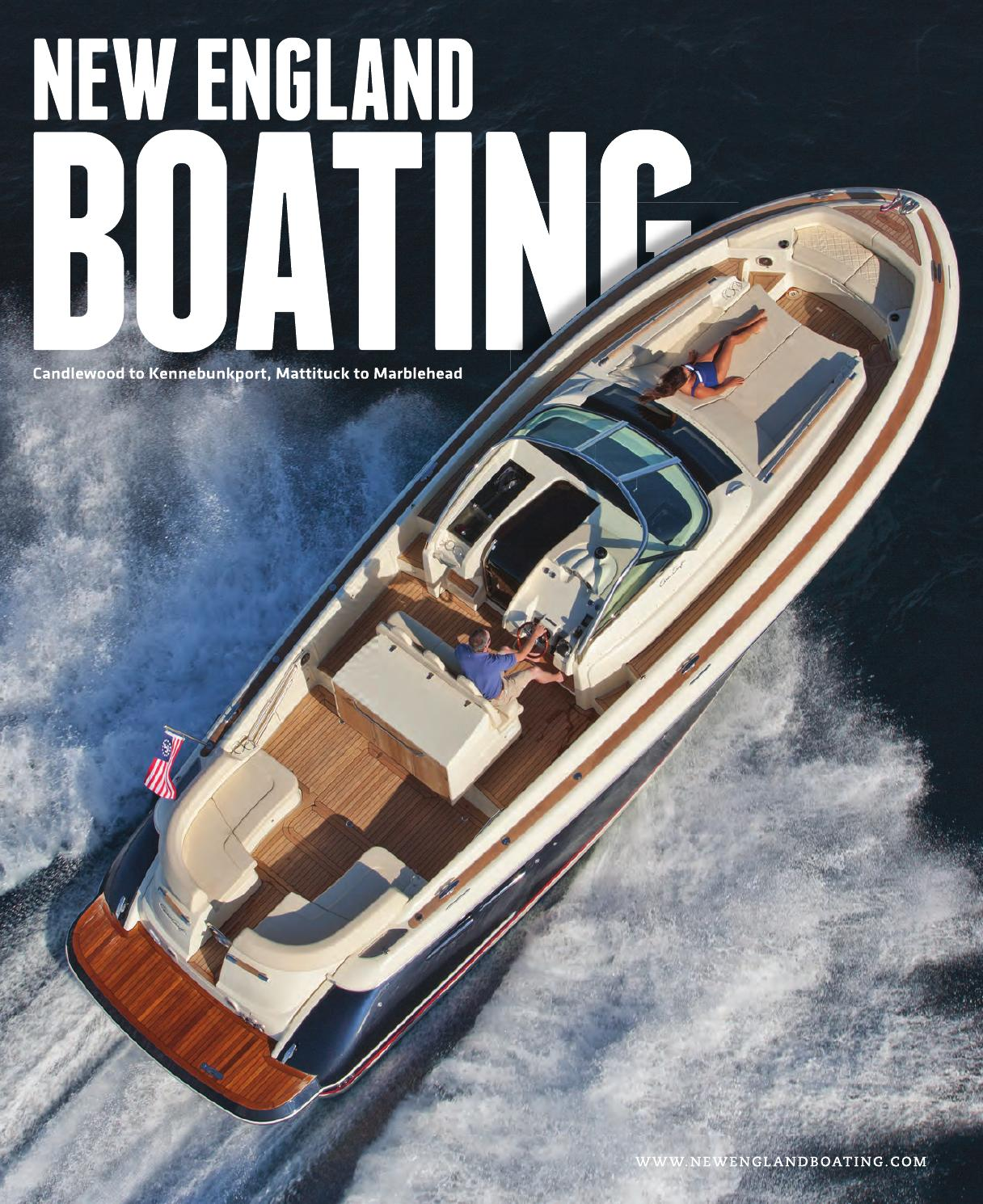 New England Boating Spring Summer 2015 By Lighthouse Media Cobia 17 Boat Wire Diagram Solutions Issuu