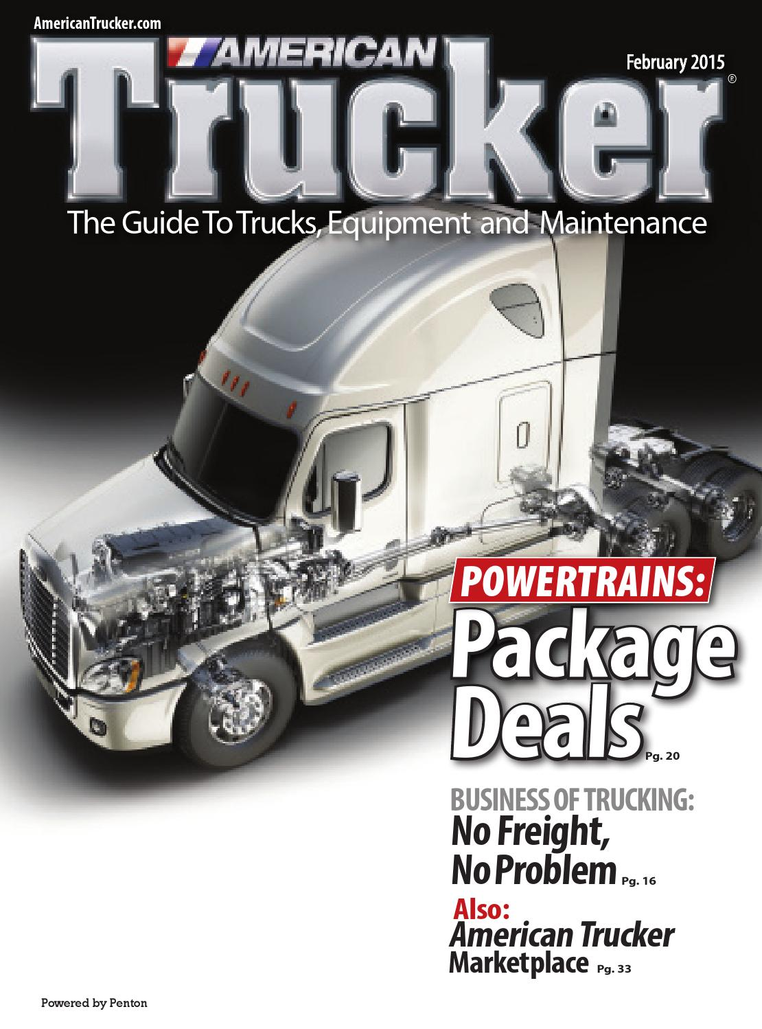American Trucker February 2015 By Issuu 2008 Freightliner Ecm Wiring Diagram Coolant