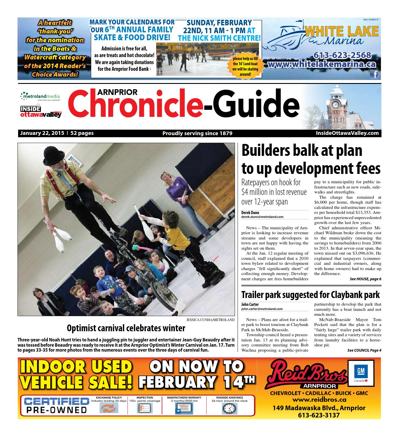 Arnprior012215 By Metroland East Arnprior Chronicle Guide Issuu Usb Powered Pic Programmer Circuit Schematic Images Femalecelebrity