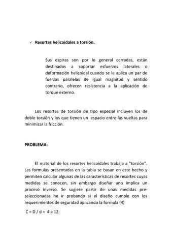 Resortes helicoidales formulas
