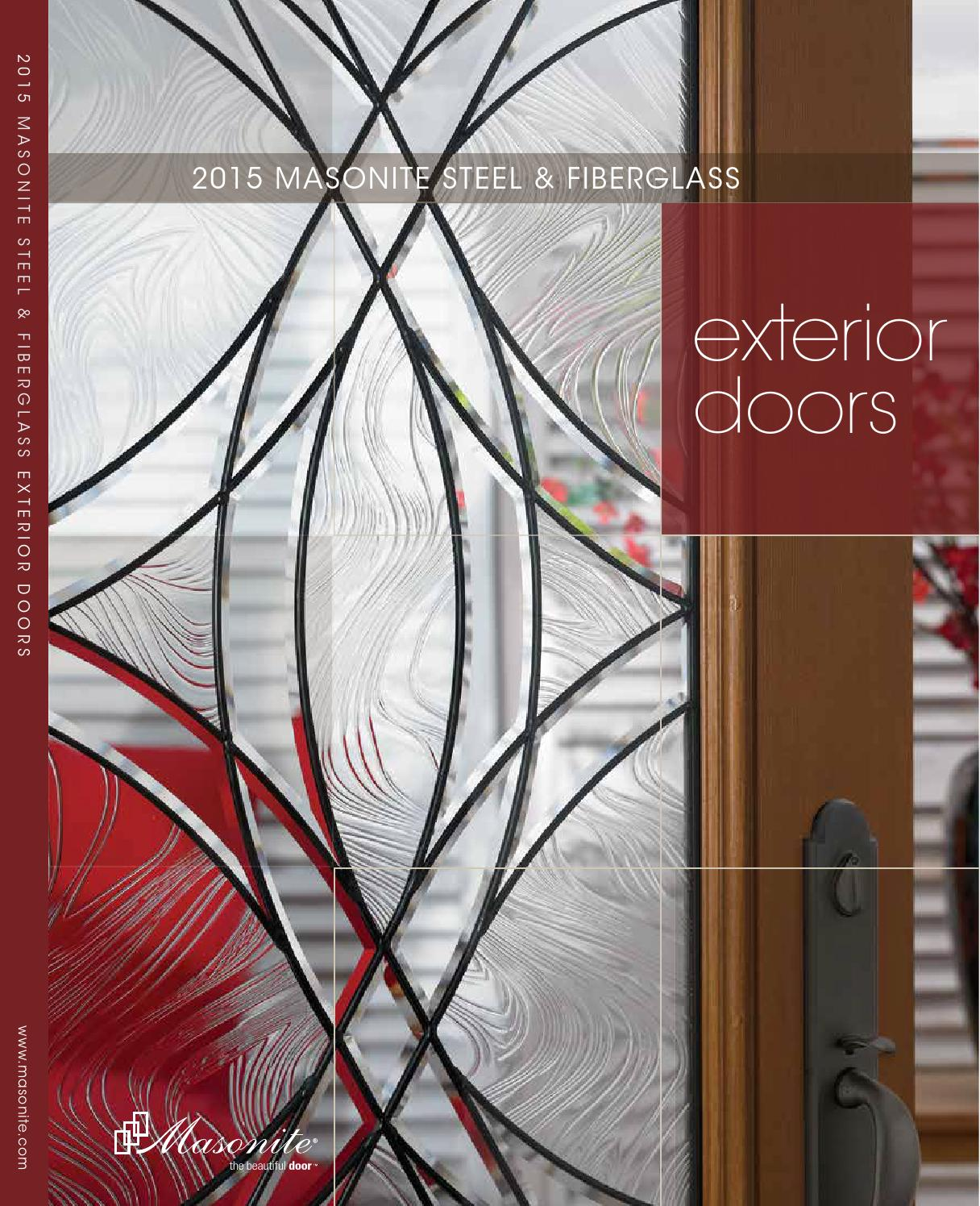 1496 #722C27 2015 Masonite Exterior Door Catalog By Meek Lumber Company Issuu wallpaper Masonite Fiberglass Exterior Doors 43651216