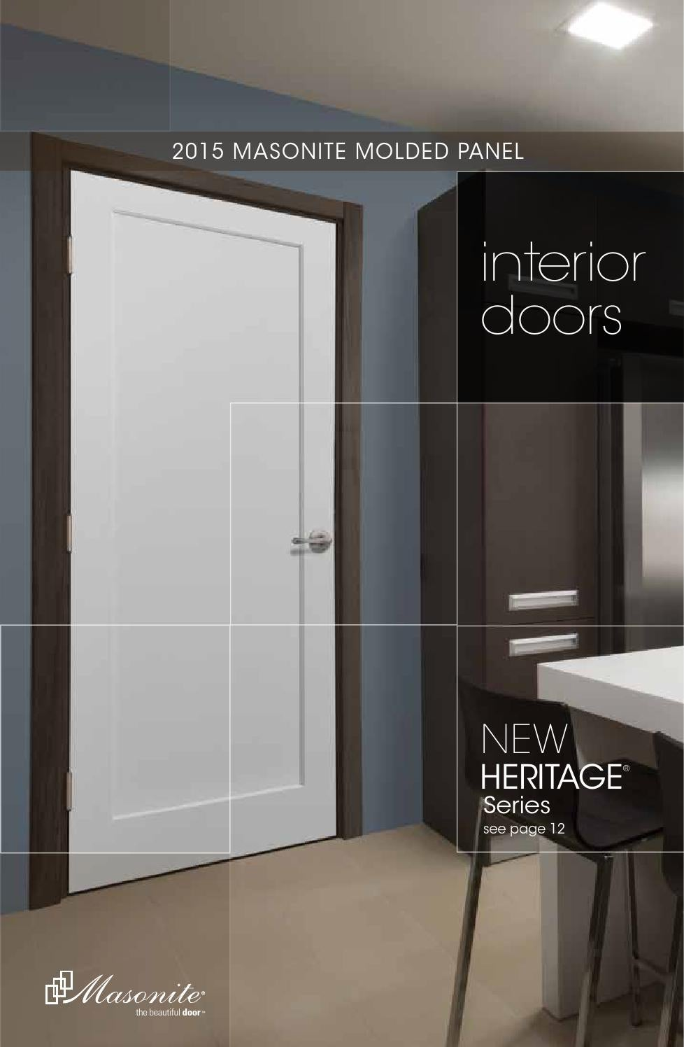 2015 masonite interior door catalog by meek lumber company for Www masonite com interior doors