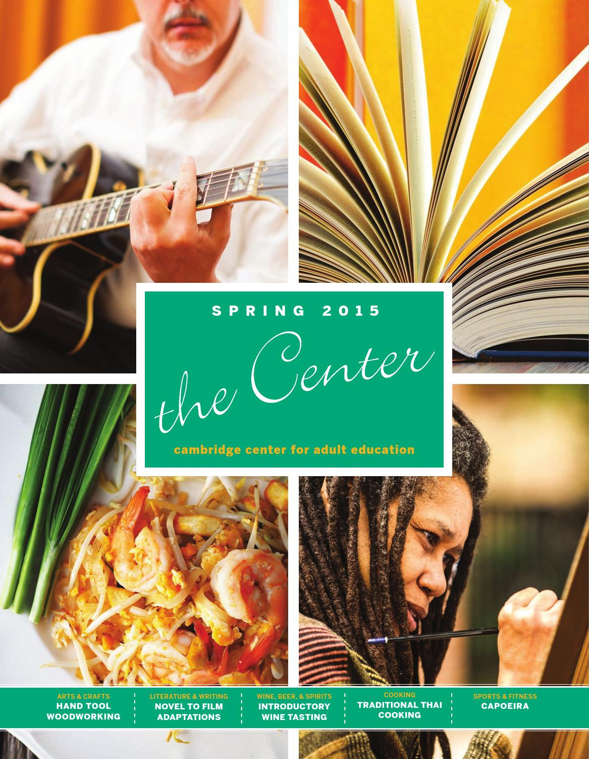 CCAE Spring 2015 by Cambridge Center for Adult Education - issuu