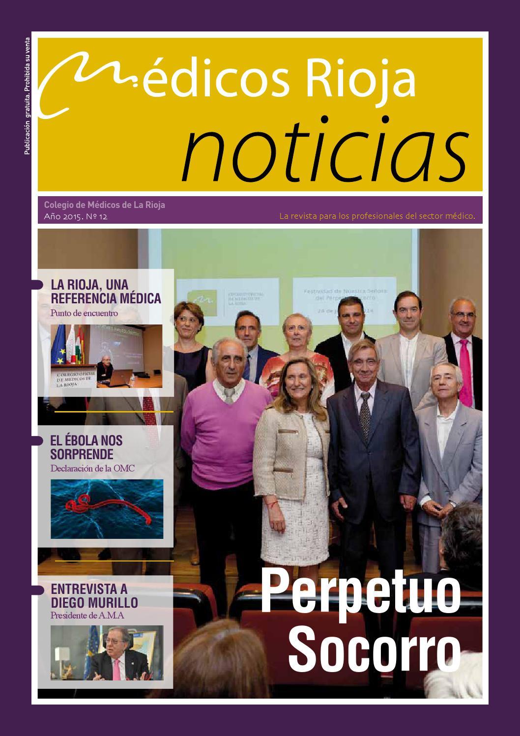Revista Nº 12 / Año 2015 Colegio Oficial de Médicos de La Rioja by ...