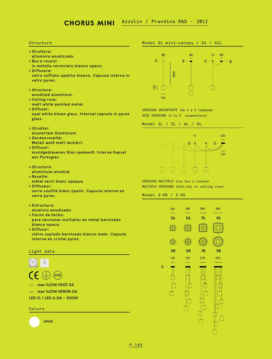 фабрика Prandina Prandina 2015 Catalogue By Light Hall Issuu