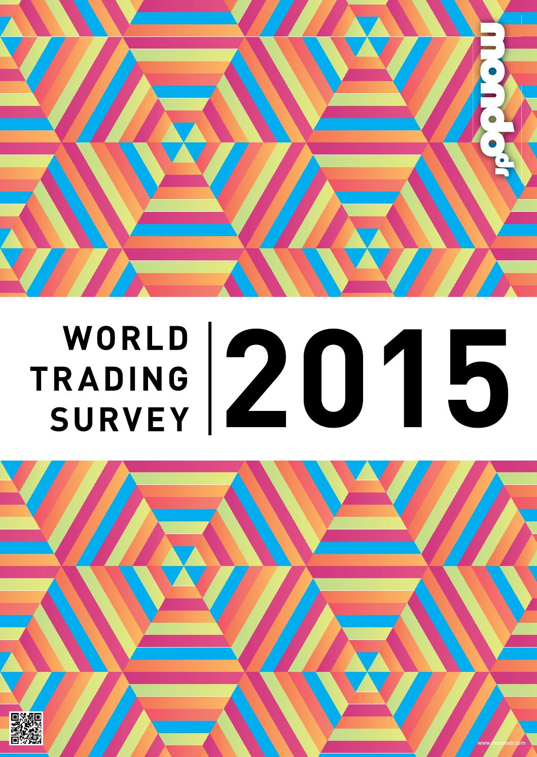 World Trading Survey 2015 By Mondiale Publishing Issuu Frame Anthem 275 Blue Orange M