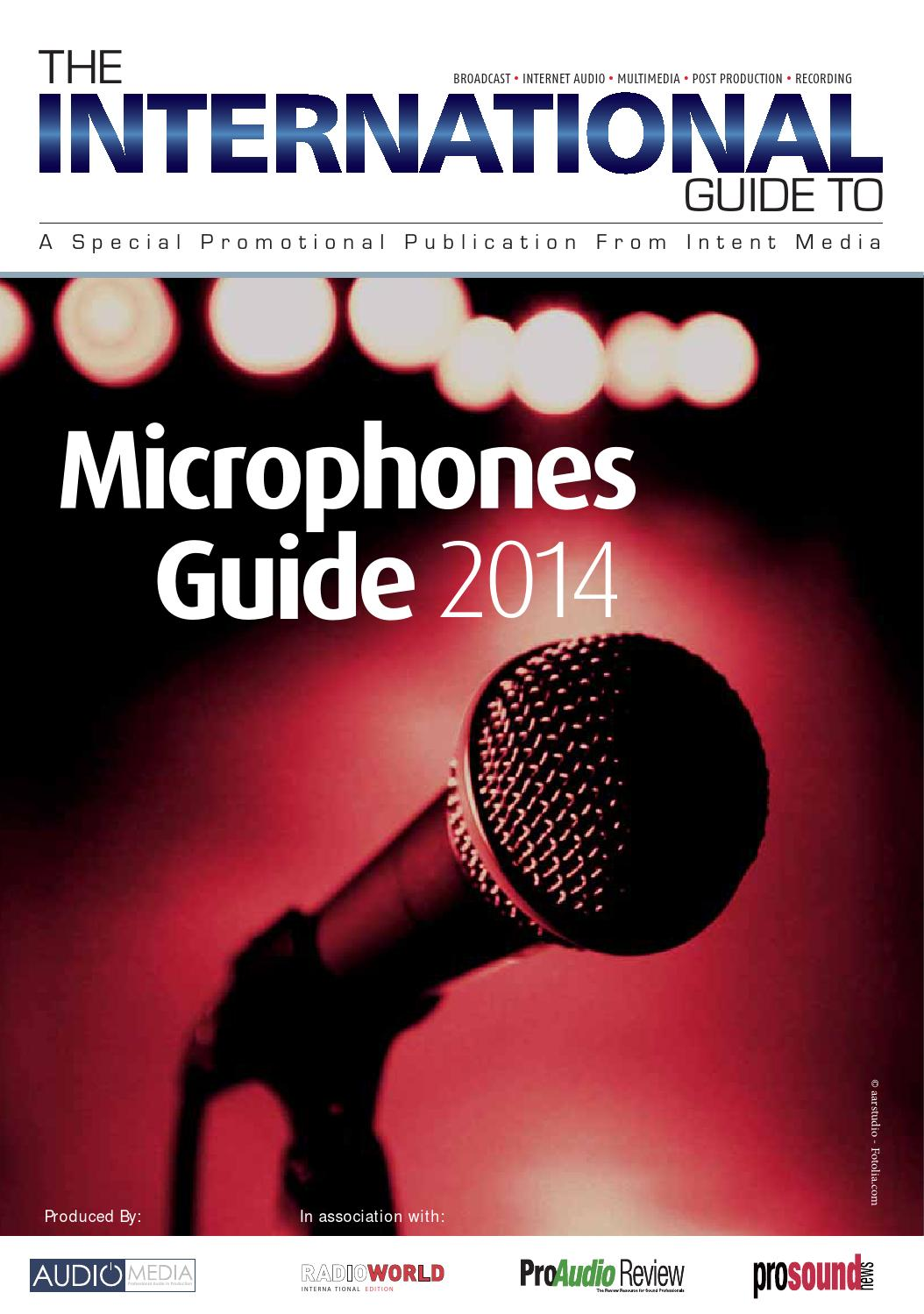 Microphones Guide 2014 By Future Plc Issuu Carbon Mic Or Telephone Transmitter Element The Circuit