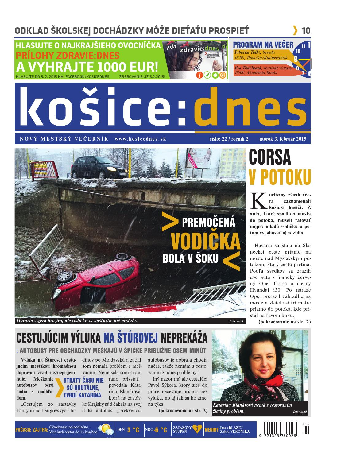 kosice dnes by KOŠICE DNES - issuu 9f3d6524785