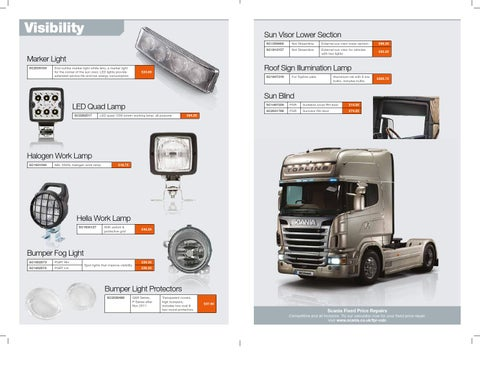 Scania Accessories Catalogue by Scania (Great Britain