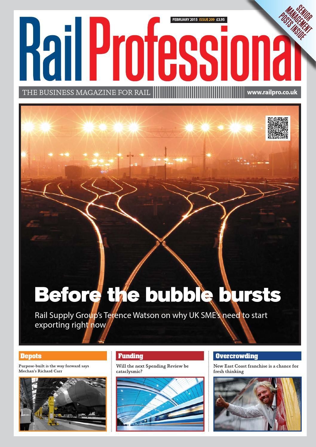 Rail Professional February 2015 Issue By Magazine Circuit Board Genuine Me Depot Issuu