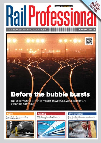f9f31ecab17 Rail Professional February 2015 issue by Rail Professional Magazine ...