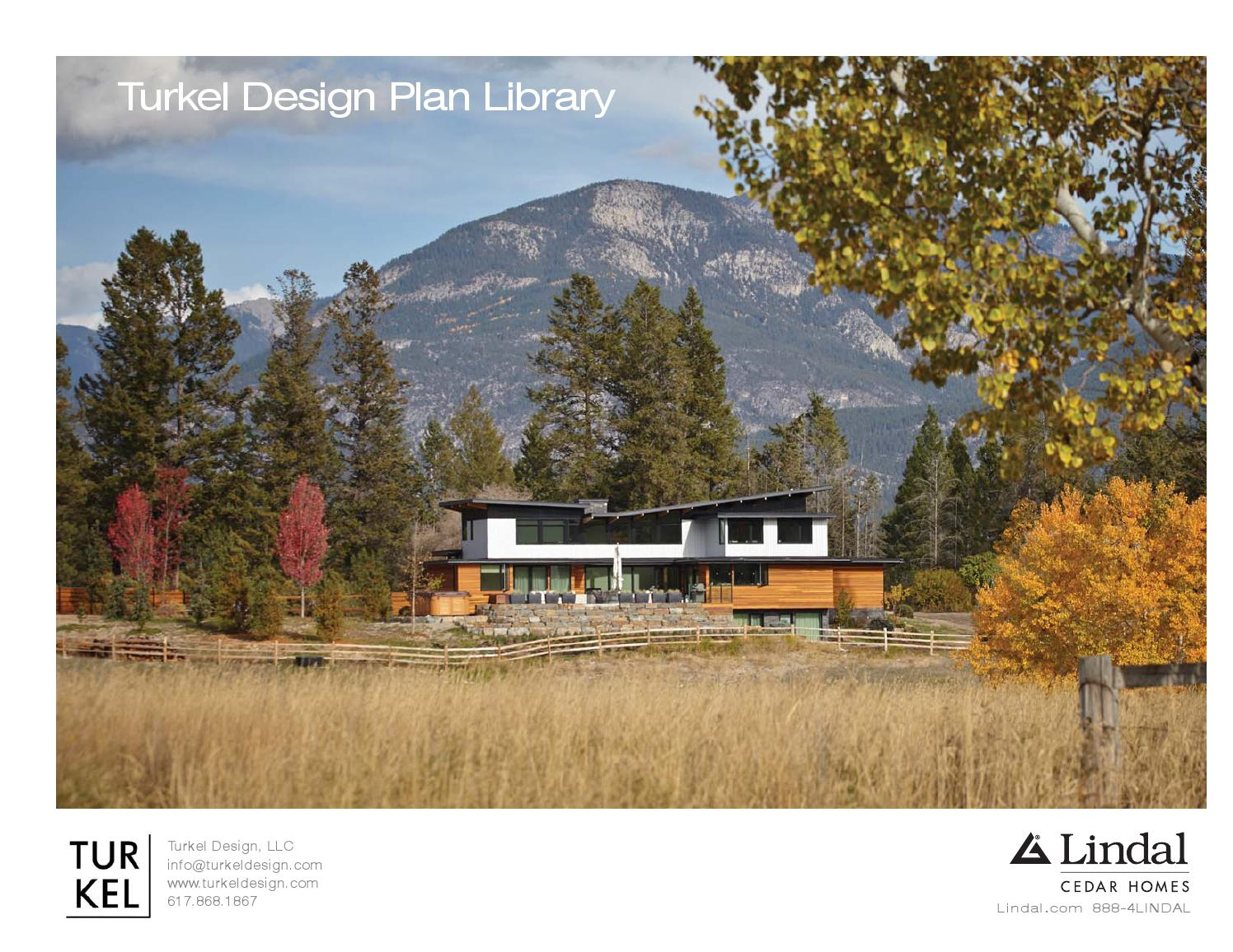 Turkel Design For Lindal Cedar Homes Plan Library By Lindal Cedar Homes Issuu