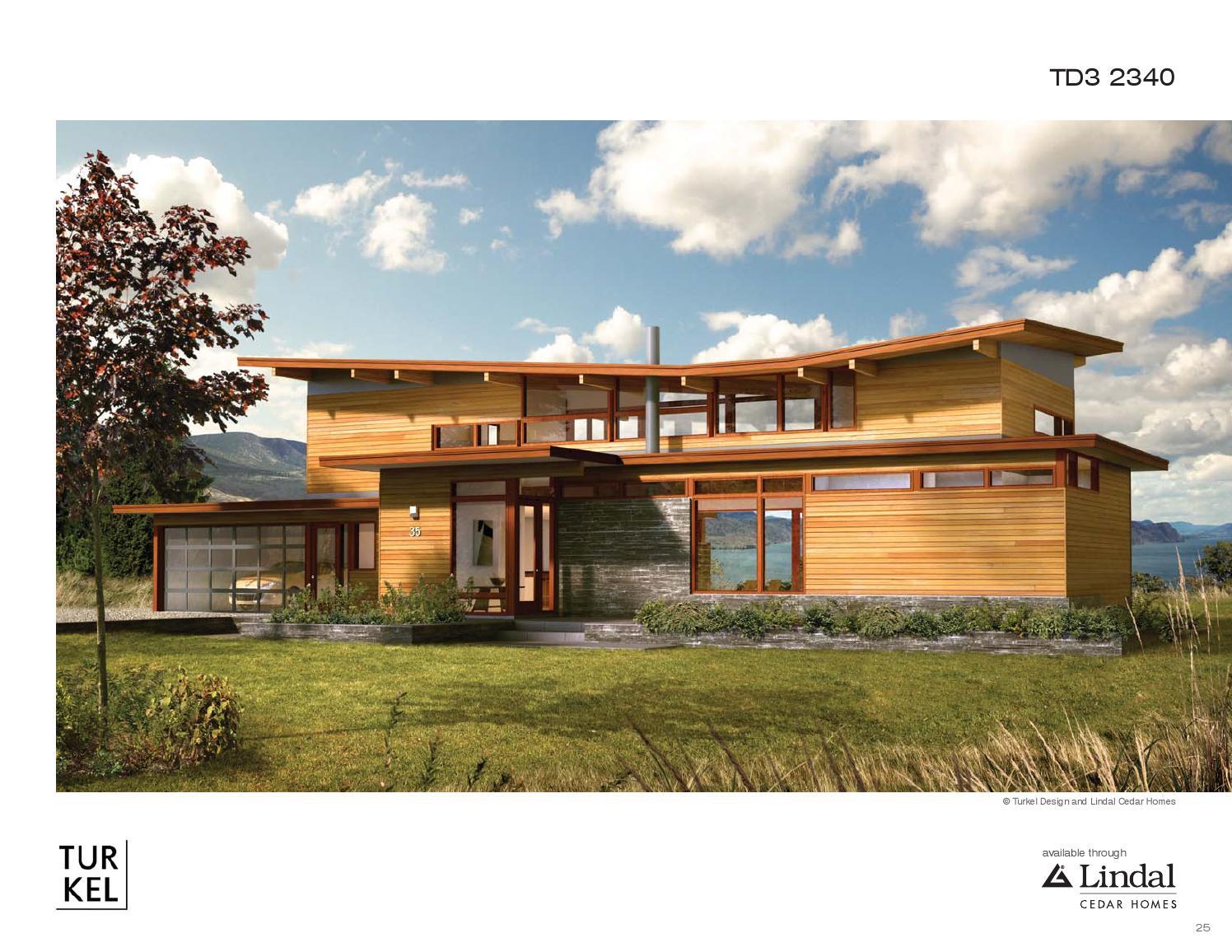 Turkel Design For Lindal Cedar Homes Plan Library By Lindal Cedar