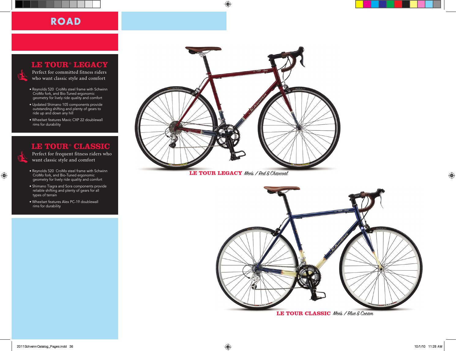 2011 Schwinn Catalog- English by Schwinn Bikes - issuu