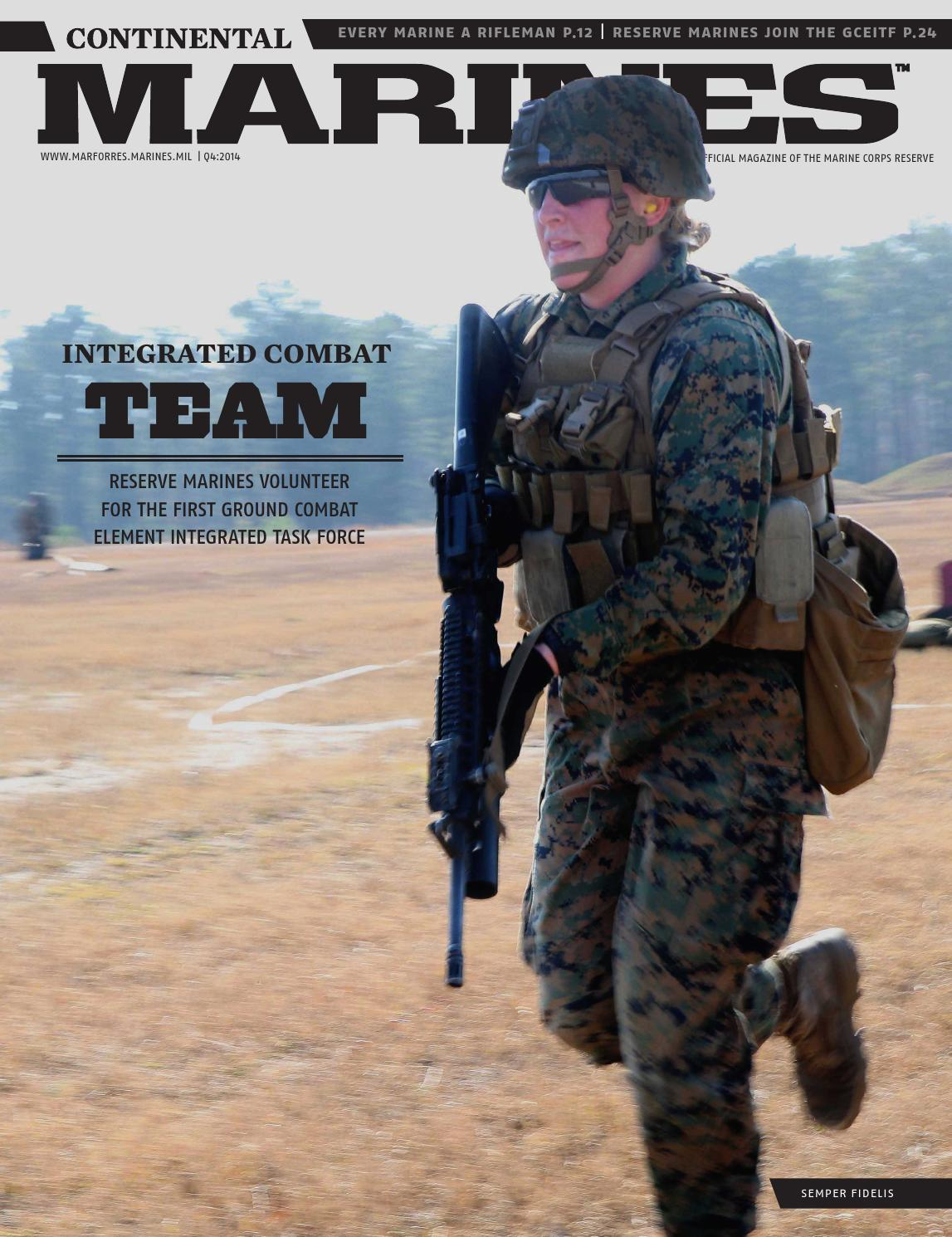 Continental Marines Magazine - 4th Quarter, 2014 by Marine ...