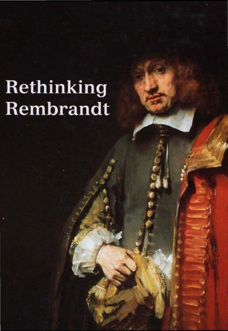 rembrandt and the bible exh cat h begemann e c white and c brown organizers