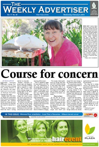 39e4f652 The Weekly Advertiser - Wednesday, February 4, 2015 by The Weekly ...