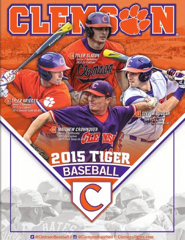 5c8f3372150 2015 Clemson Baseball Media Guide by Clemson Tigers - issuu