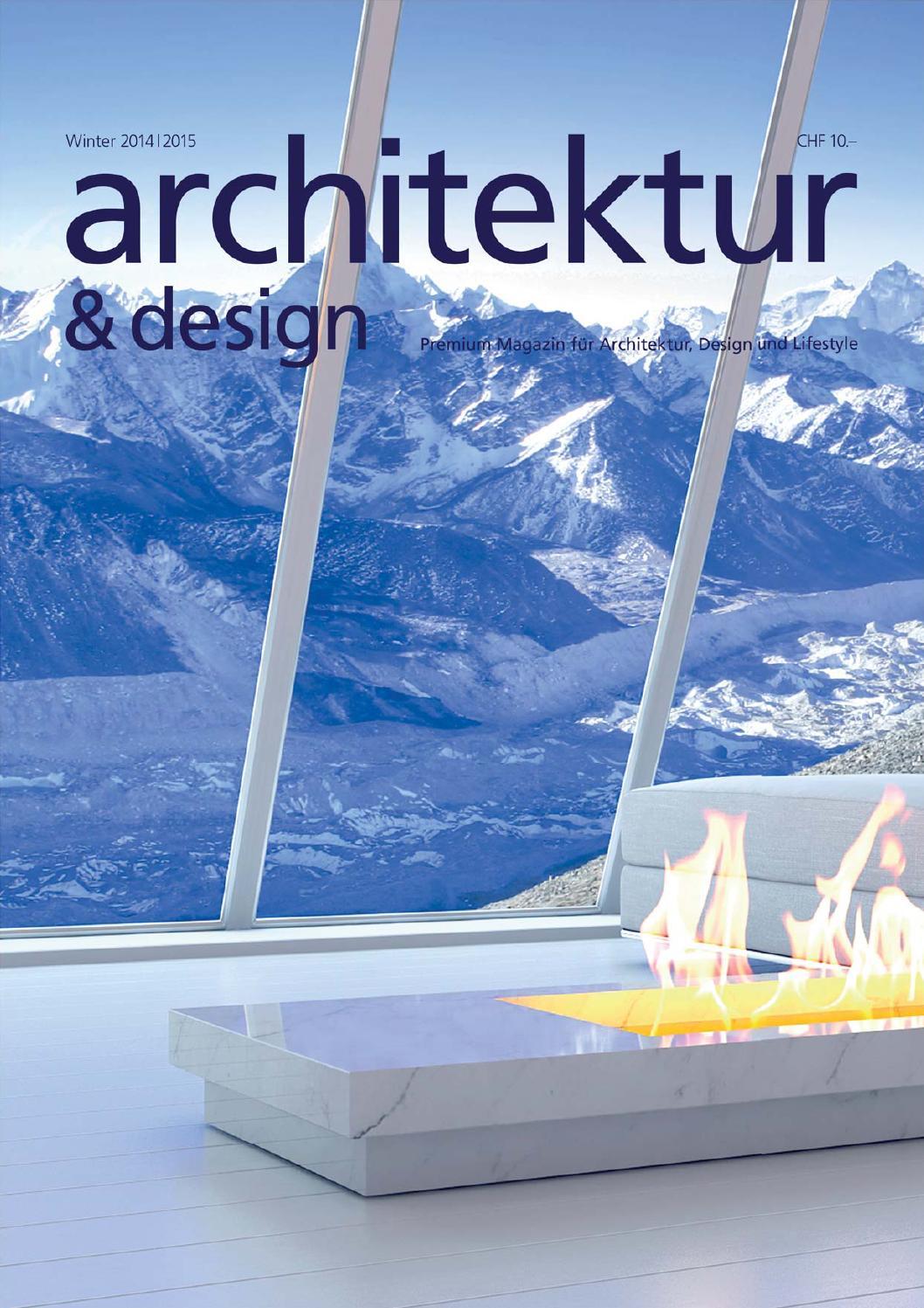 Architektur und design 1 halbjahr 2015 by new time design for Architektur und design