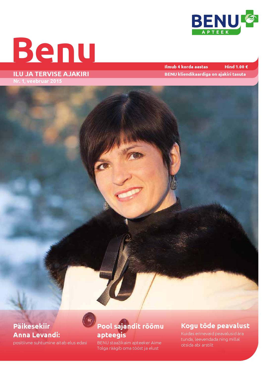 892a39e7143 Benu Apteegi kliendiajakiri, veebruar 2015 by Meediapilt OÜ - issuu