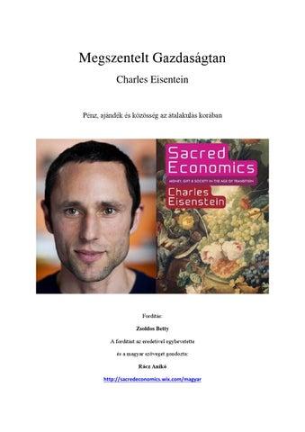 3a4c41d576 Charles Eiseinstein - Megszentelt Gazdaságtan teljes pdf könyv ...
