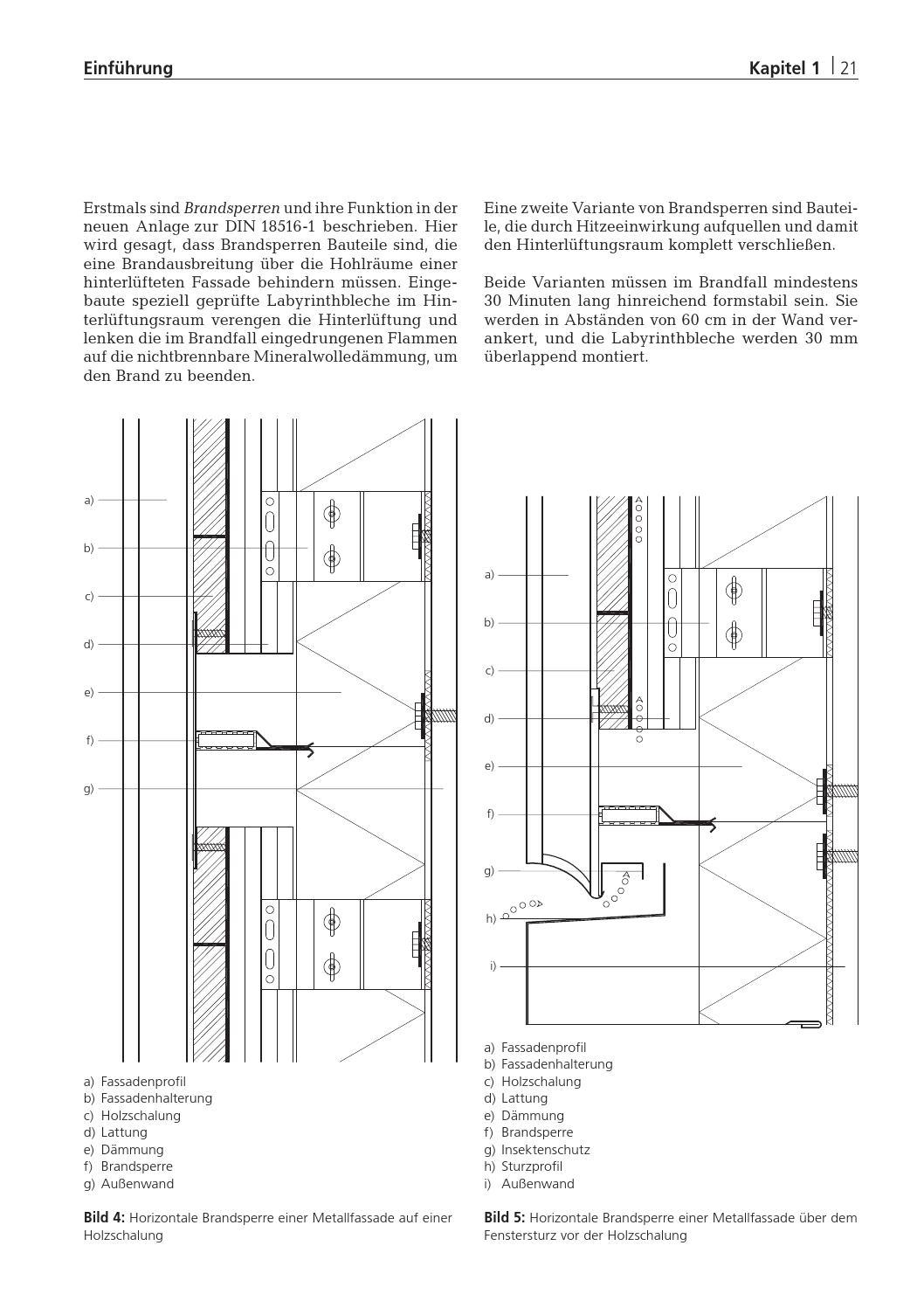 Fassaden konstruktion sanierung projekte by detail for Holzrahmenbau details
