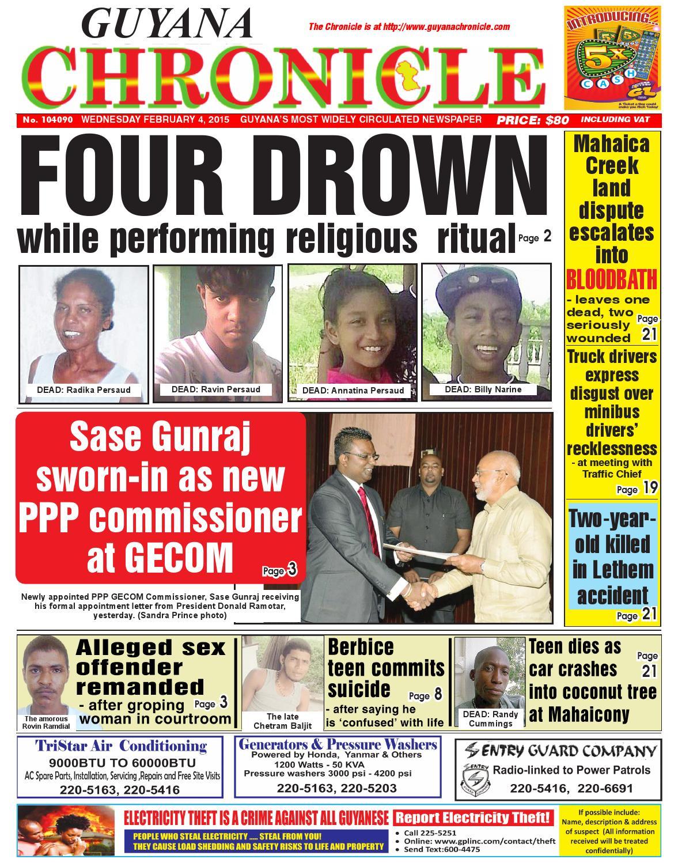 Guyana chronicle 04 02...