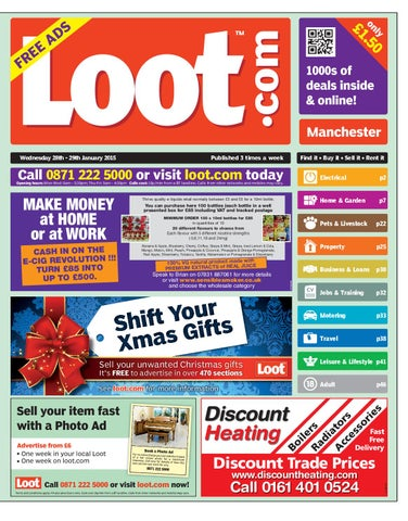 online retailer 29223 edfa7 Loot Manchester, January 28th 2015 by Loot - issuu