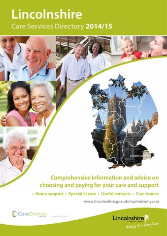 Lincolnshire Care Services Directory 2014 15
