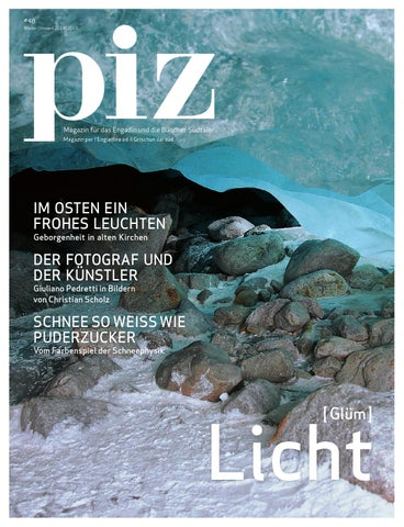 Piz #48 LICHT [GLÜM] By Edition Piz   Issuu