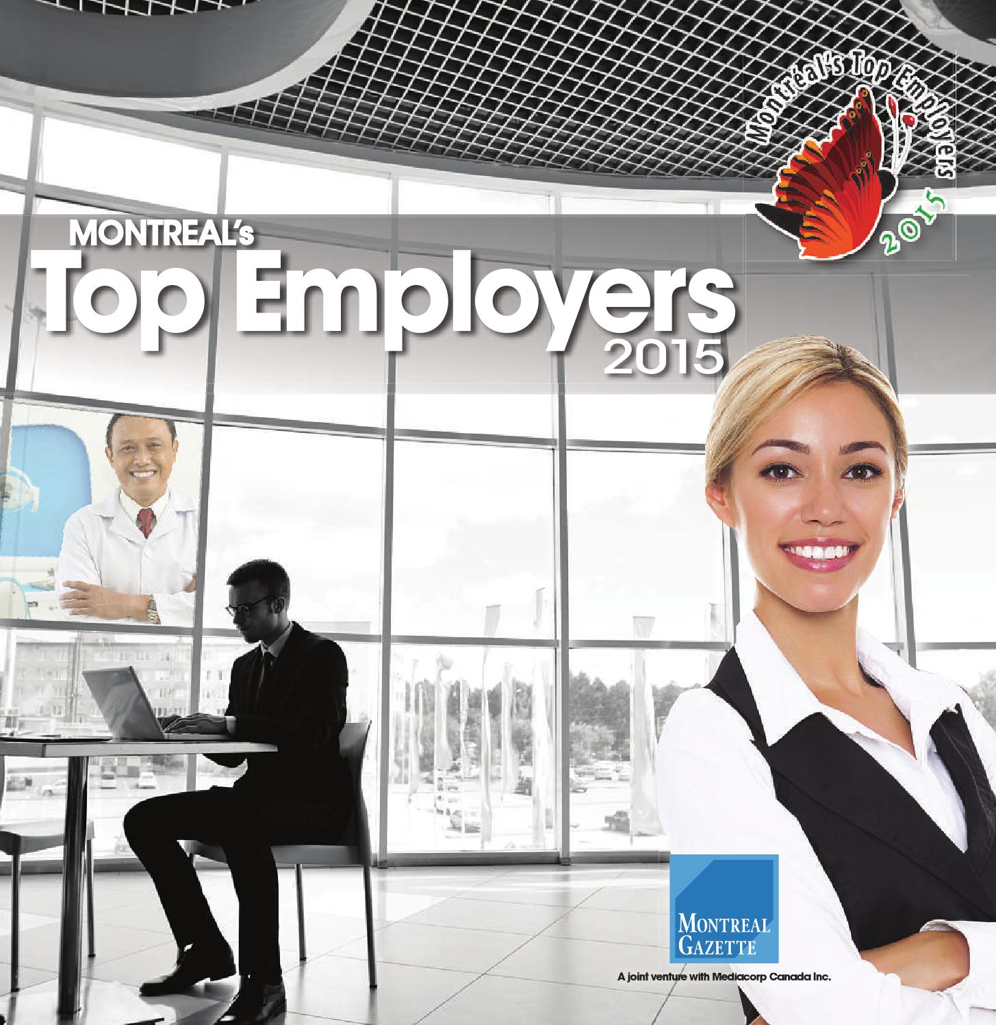 canada s top employers 2014 2018 aon best employers in canada  in quebec lists (2012–2015) watch red carpet interviews from the aon best employers 2016 awards ceremony.