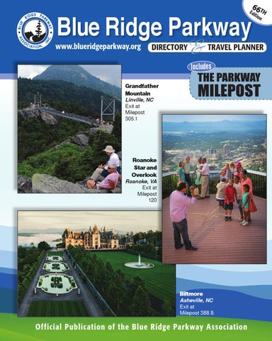 Blue Ridge Parkway Directory   Travel Planner - 66th Edition by Blue ... bbb304e30