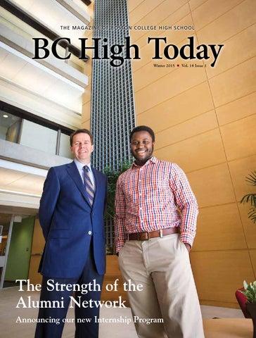 Bc High Today Alumni Magazine Winter 2015 By Bc High Issuu