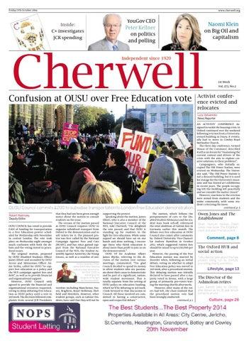 cherwell essay crisis