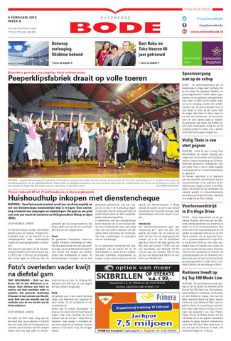 Dukaten Blokker Nog Geldig.Rucphense Bode 04 02 2015 By Uitgeverij De Bode Issuu