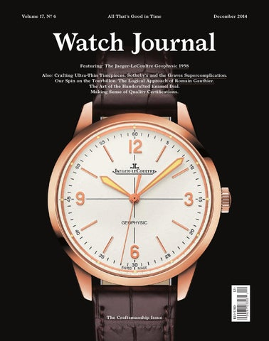 7f30e417fd1 Watch Journal December 2014 by Watch Journal - issuu