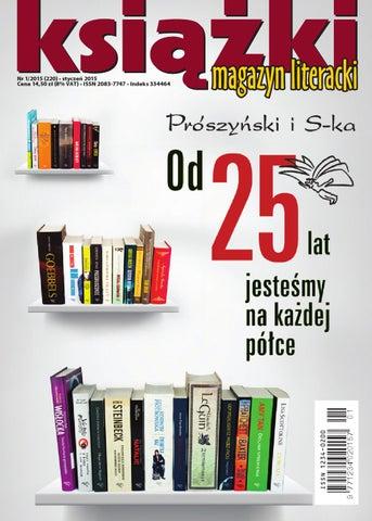 f24c5c3f8aa37 Magazyn Literacki KSIAZKI 1 2015 by Biblioteka Analiz Magazyn ...