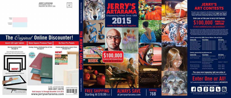 2015 jerry s artarama official full line catalog by jerry s artarama