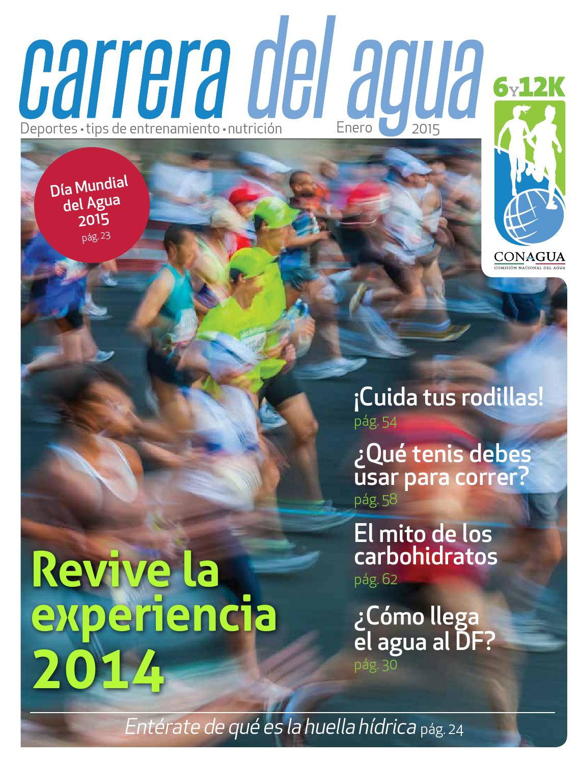 Revista Carrera del agua 2014 by Grupo Mexicano de Medios - issuu