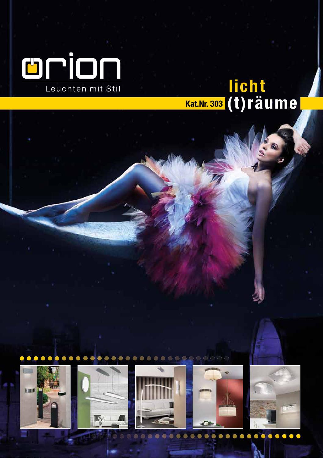 Orion Katalog Nr 303 Licht Traume Neuheiten By Freziya Lajt