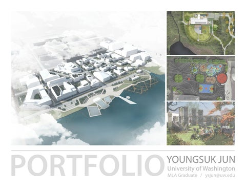 landscape architecture portfolio 2015 youngsuk jun by youngsuk jun