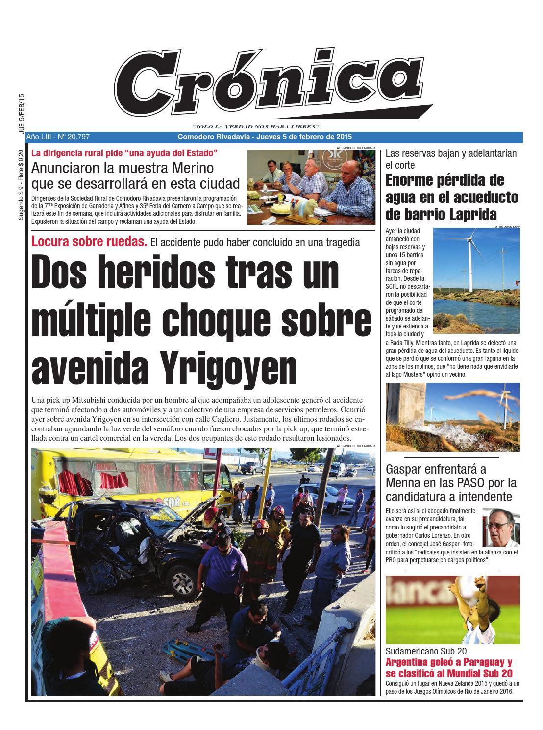 C86a1ff8e6365da61a3e7ae02a225f23 by Diario Crónica - issuu