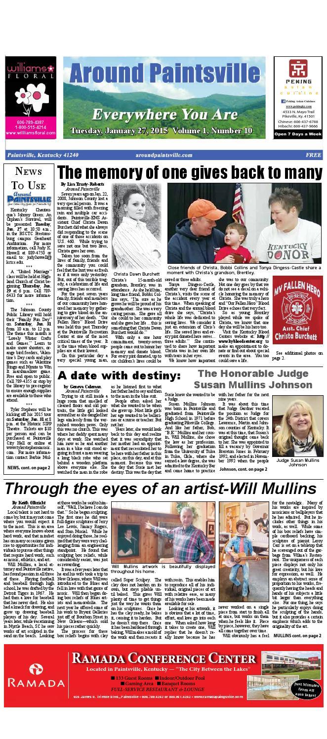 1 27 15 final paper by Around Paintsville - issuu