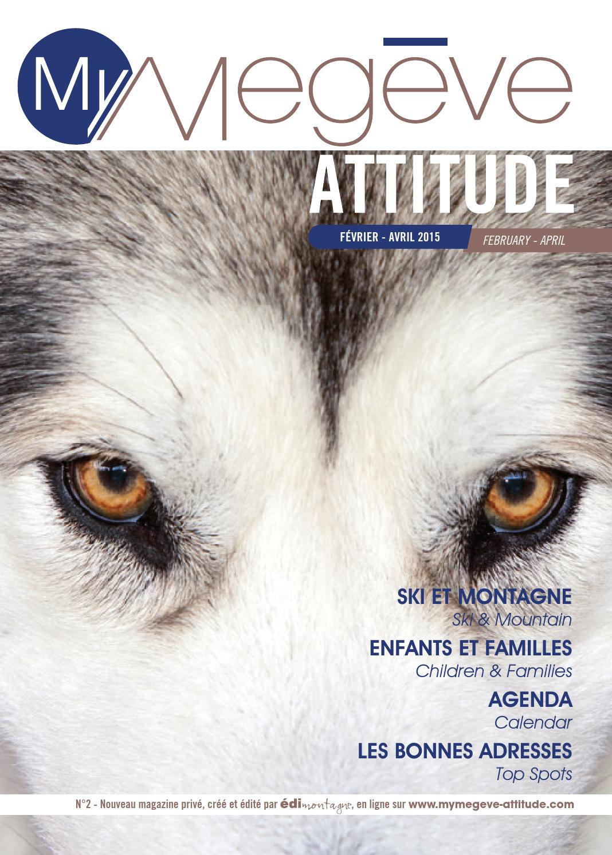 MyMegève Attitude   Février-Avril 2015 by Édimontagne - issuu 52ba824b4041