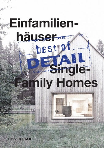 Best Of DETAIL Single Family Homes By DETAIL   Issuu