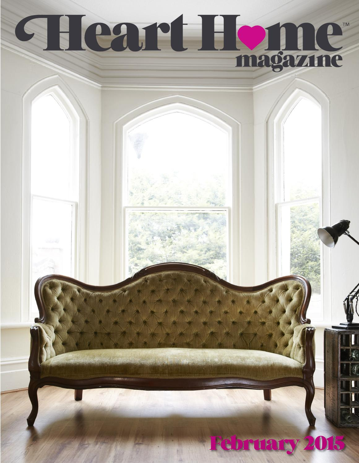 February 2015 a by heart home magazine issuu - Top home decor magazines ...