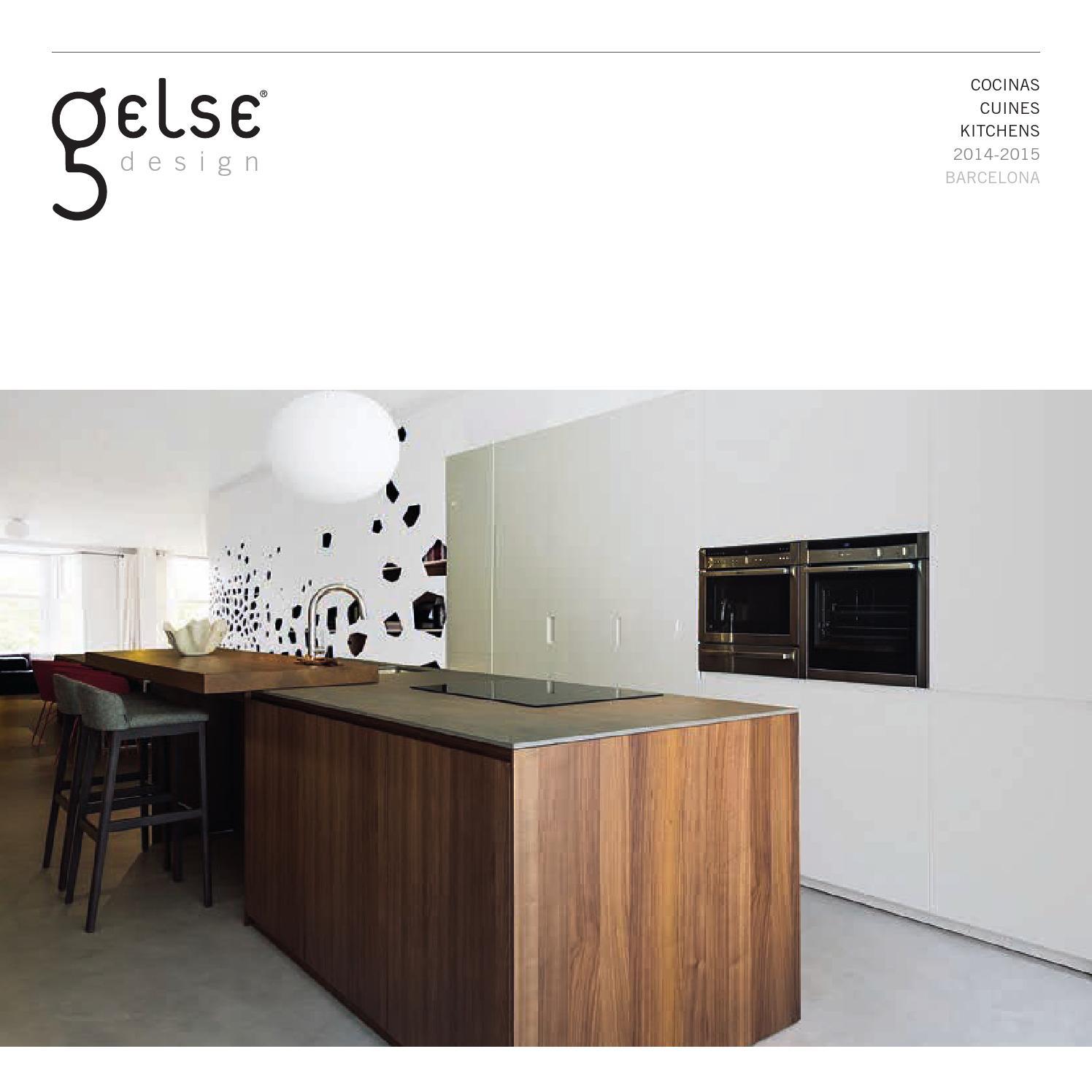 Gelse Cocinas Barcelona Cat Logo 2015 By Grupo Aj Dise O Web  # Xp Muebles De Cocina
