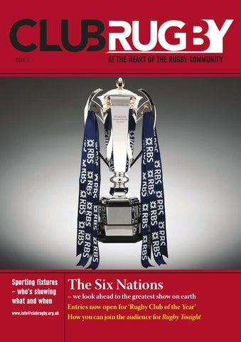 4c545195265 Club rugby issue 3 by Alchemy Contract Publishing - issuu